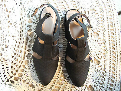 TopShop Grey Shoes Size 5 (38) New