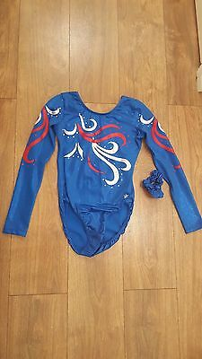 Gymnastics Snowflake Leotard Size Adult Small