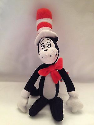 Dr. Seuss Cat In The Hat Plush Christmas Ornament - Official Movie Merchandise