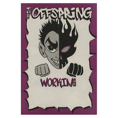 The Offspring authentic Working 2000-2001 tour Backstage Pass