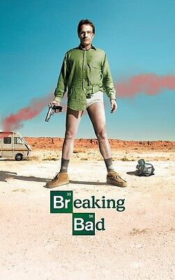 Breaking Bad poster print : Bryan Cranston poster : 11 x 17 inches (a)