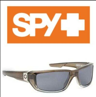 SPY Dirty Mo Sunglass Crystal Grey/ Grey Lens Mx Goggle Snowboard Ski Surf Shoot