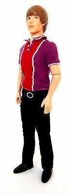 """Justin Bieber (2010) 12"""" Fully Poseable Character Doll-Original issue-28410FC"""