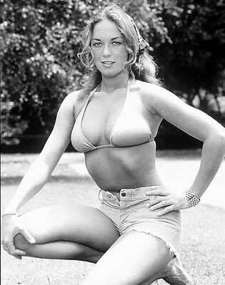 The Dukes Of Hazzard Catherine Bach Daisy Duke 8X10 B&w Photo Hot #2