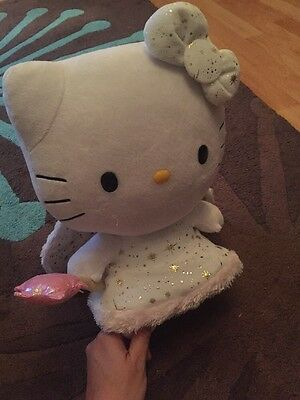 Ty Hello Kitty Fairy, Ward, Soft Toy, Bow, Wings, Girlie, Pink, Cat