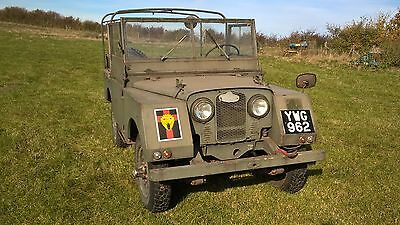 Land Rover series 1 one, Minerva 1953 model year