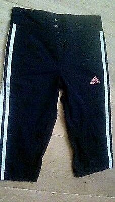 Girls Adidas Sports Trousers Age 7-8 Years