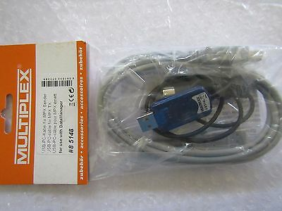 Multiplex M-Link 5418 85418 Usb Pc Cable For Mpx Sender Tx