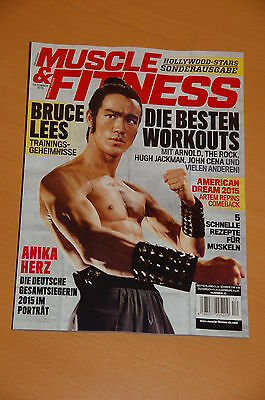 Muscle & Fitness Hollywood Stars Sonderausgabe Bruce Lee Cover, Schwarzenegger