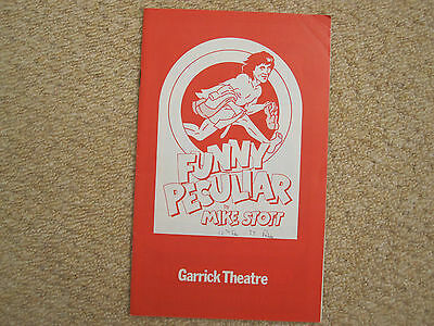 FUNNY PECULIAR (Beckinsale, Walters, Postlethwaite) at Garrick Theatre 1977