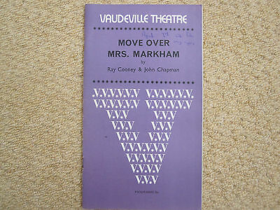 MOVE OVER MRS MARKHAM - star-filled cast + tkts - 1971