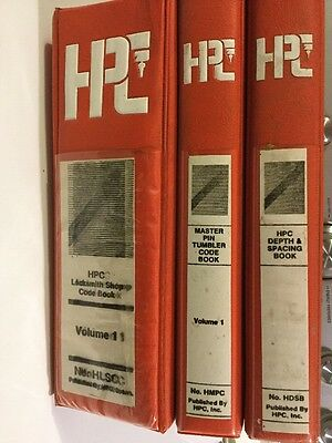 HPC Locksmith Books - Codes and Spacing - Set of 3
