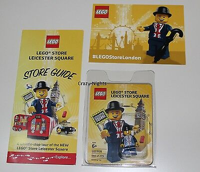 LEGO® - LESTER Minifigure Leicester Square - London Opening (limited 60 of 275)
