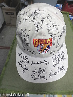 #ii1.  Signed  Adelaide  Giants  Baseball Cap