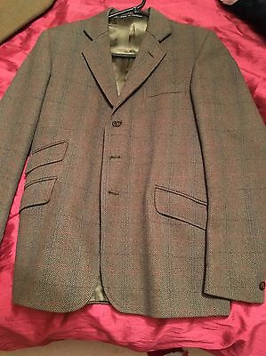 Boys Small Men's Showing Jacket Tweed