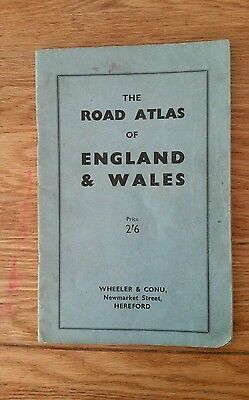 The Road Atlas of England & Wales