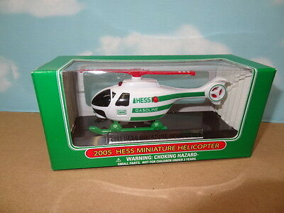 2005 Hess Miniature Helicopter New In A Box