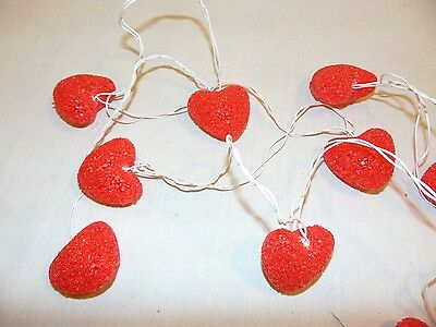 Strain Of Heart Shaped Haning Lights Valentines Day
