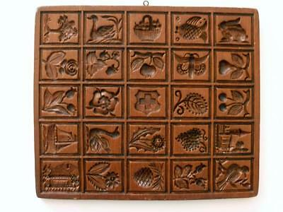 House on the Hill Speculaas Springerle Cookie Mold 25 Picture Stamps