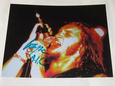 Layne Staley Alice in Chains Rarity In Person Photo W*COA