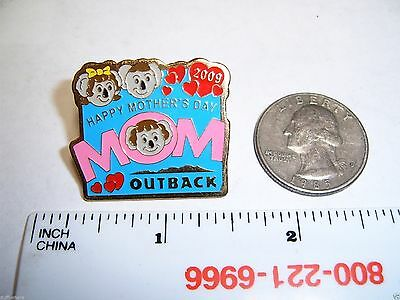 Outback Steakhouse Lapel Pin Hat Pin Outback Happy Mothers Day Mom 2009