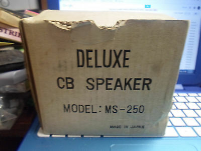 2 Four Star Deluxe CB Speakers model MS-250 made in Japan