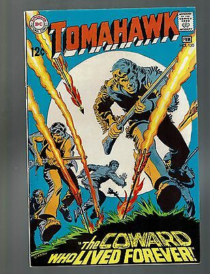 """Tomahawk 120 F 6.0 """"the Coward Who Lived Forever"""" The Rangers Finger Nick Cardy"""