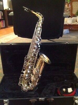 The Sound Alto Saxophone Great Condition!