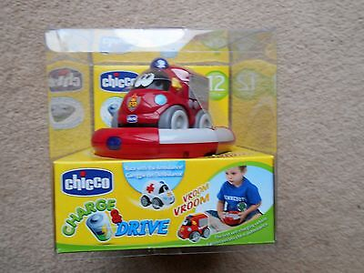 Chicco Charge And Drive Fire Engine
