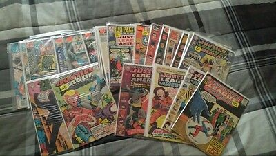 Justice League of America #14 38 41 47 50 65 72 95-259 - Silver/Bronze Lot of 48