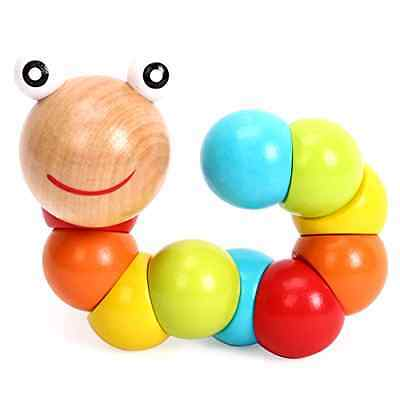 Merry Wooden Baby Building and Stacking Toy,colours,set of 1