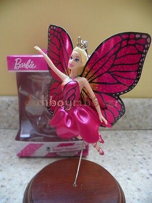 Carlton/American Greetings 2013 Barbie Mariposa Butterfly Christmas Ornament