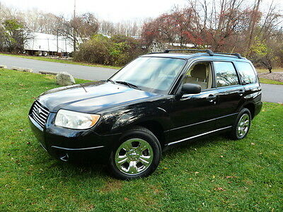 2006 Subaru Forester 2.5X AWD 4WD HEAD GASKET REPLACED! SERVICED!  NO RESERVE CHROME RIMS 2 KEYS 2 REMOTES CLEAN RUNS DRIVES GREAT 2.5 X 2.5-X