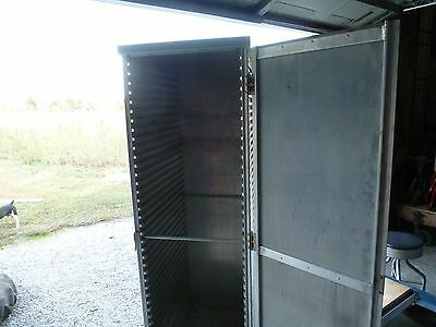 Food Transport Storage Cabinet, Cres Cor 100-1, Non Insulated, On Casters