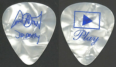 Aerosmith Pick Collection--Joe Perry Guitar Pick-Just Push Play! Pearl/blue!