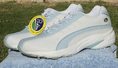 Ladies Leather Super Comfort Golf Shoe  Size 9.5 USA