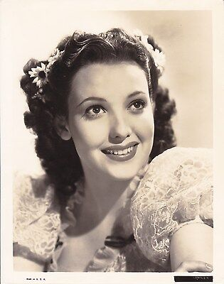 LINDA DARNELL Beautiful Original Vintage 1930s Fox Studio Portrait Photo