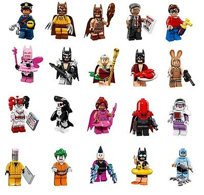 PRE-ORDER Lego BATMAN MOVIE 71017 MINIFIGS Full Set 20 COLLECTIBLE MINIFIGURES