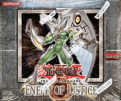Yu Gi Oh Enemy Of Justice Trading Card Game Booster Box New