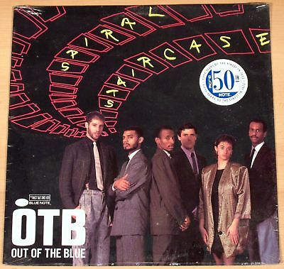 OUT OF THE BLUE - Spiral Staircase  (BLUE NOTE, US 1989 / SEALED - MINT)