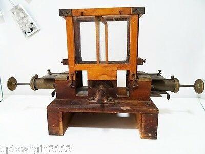 MYSTERY old MICRO MINI salesman sample PRECISION milling machine TOOL ANTIQUE