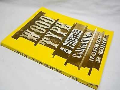 Printing Press Letterpress Wood Type Vintage Book Dingbats Photos Collectible