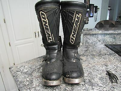 O'neal element motocross boots size 9 motorcycle endure boots