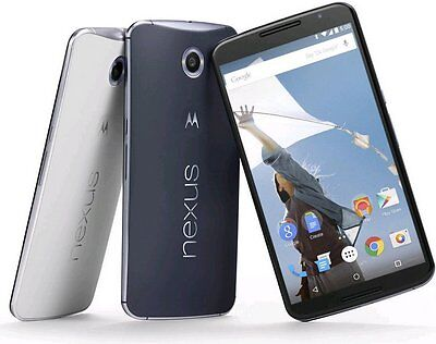 New in Box Motorola X Nexus 6 XT1100 - 32/64GB Smartphone ALL COLORS