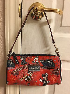 NWT Disney Dooney And Bourke Purse Red Barrel DCL Cruise Line