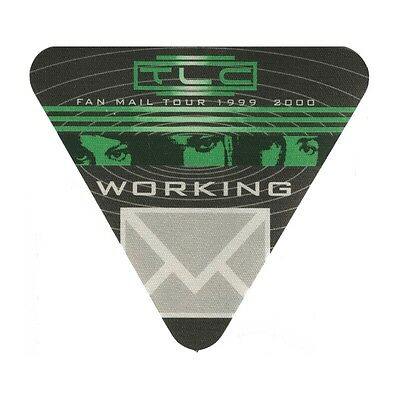 TLC authentic Working 1999-2000 tour Backstage Pass