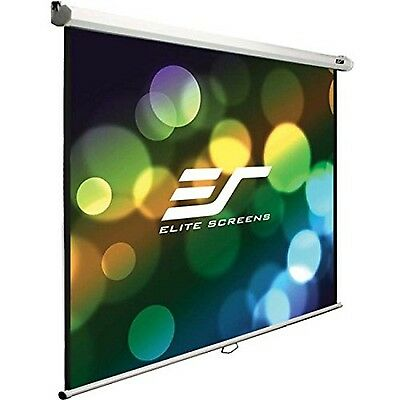 Elite Screens Manual B Series 120-inch Diag. 16:10 Pull Down Projection Manua...