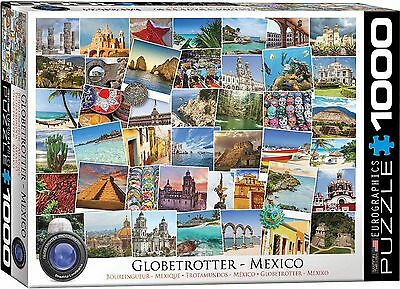 Eurographics 6000-0767 Globetrotter Mexico 1000-Piece Puzzle