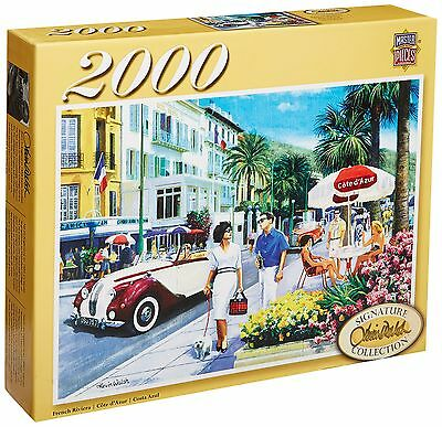 Masterpieces French Riviera Signature Series Jigsaw Puzzle (2000-Piece)