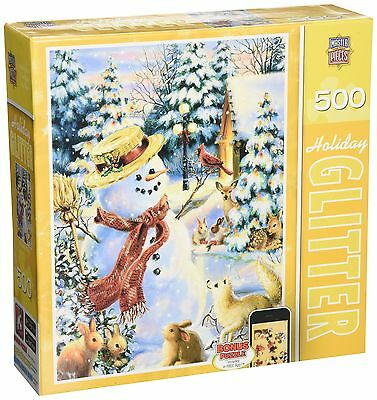 Masterpieces Holiday Glitter Holiday Party Jigsaw Puzzle (500-Piece) Art by D...